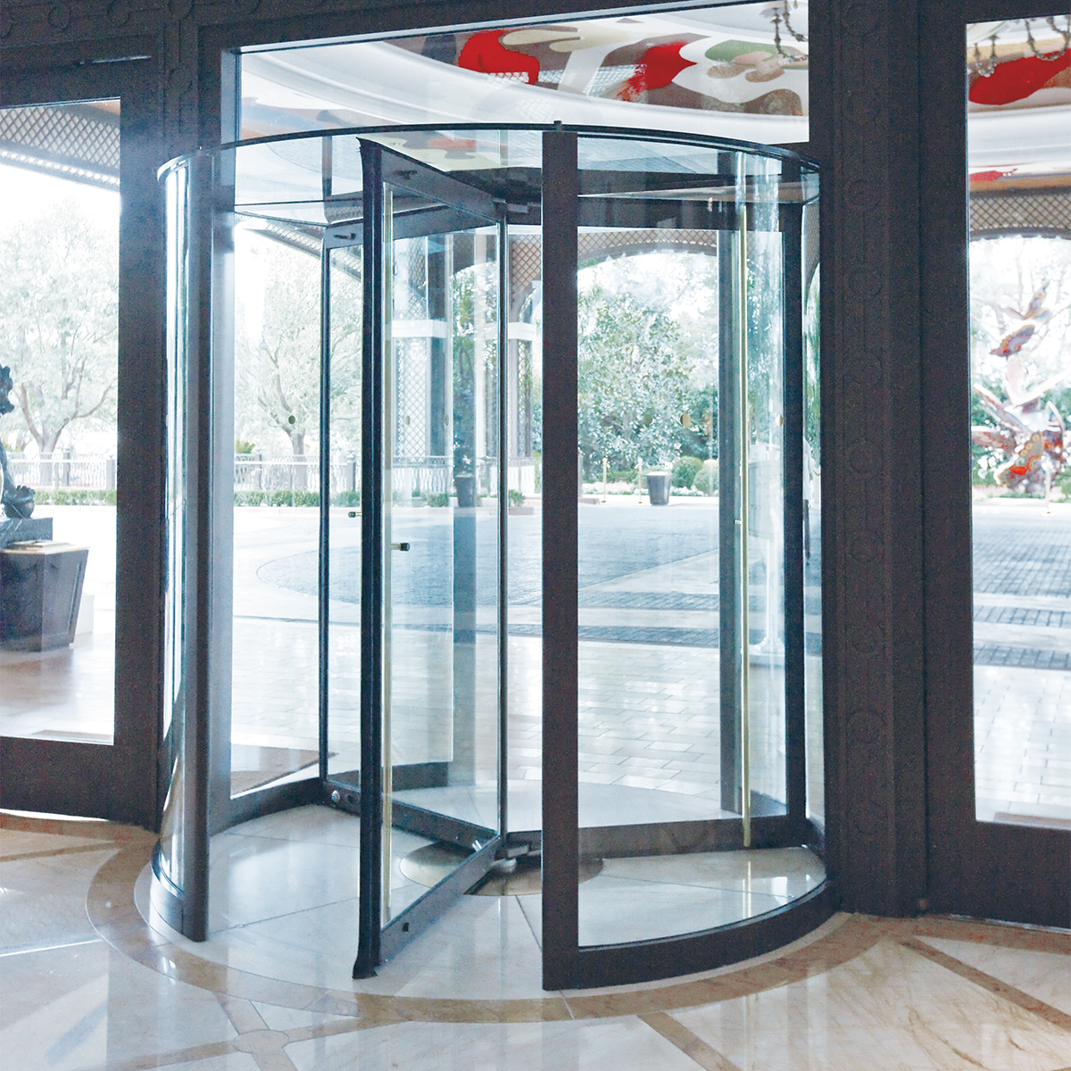 Types Of Automatic Revolving Doors