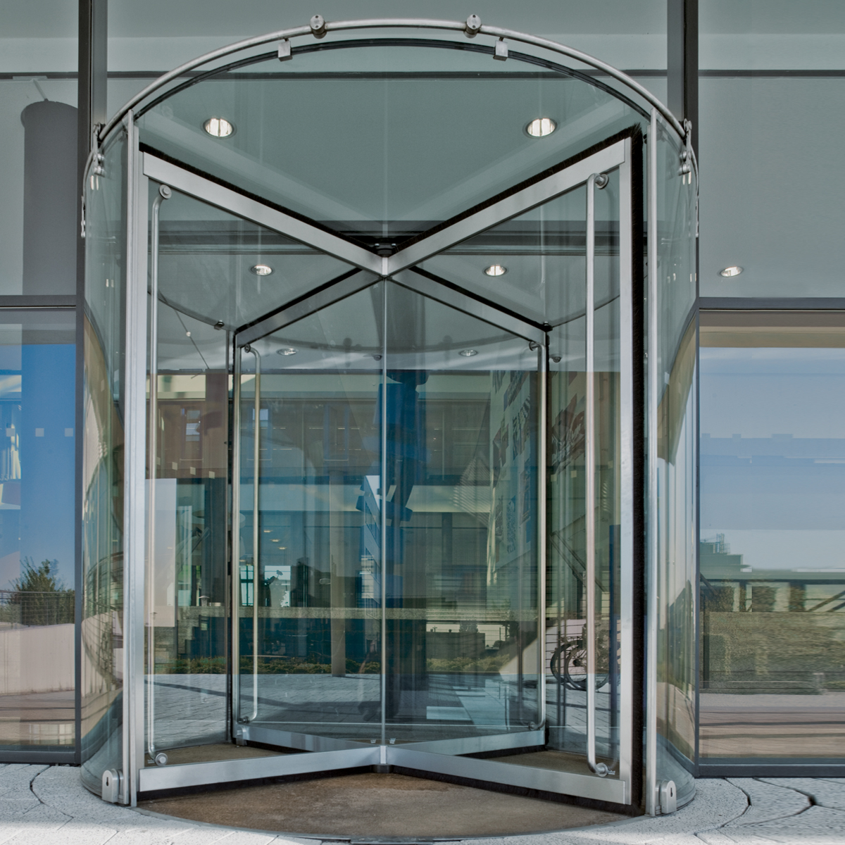 Types of Automatic Revolving Doors & Egy Gate | Automatic Revolving Doors
